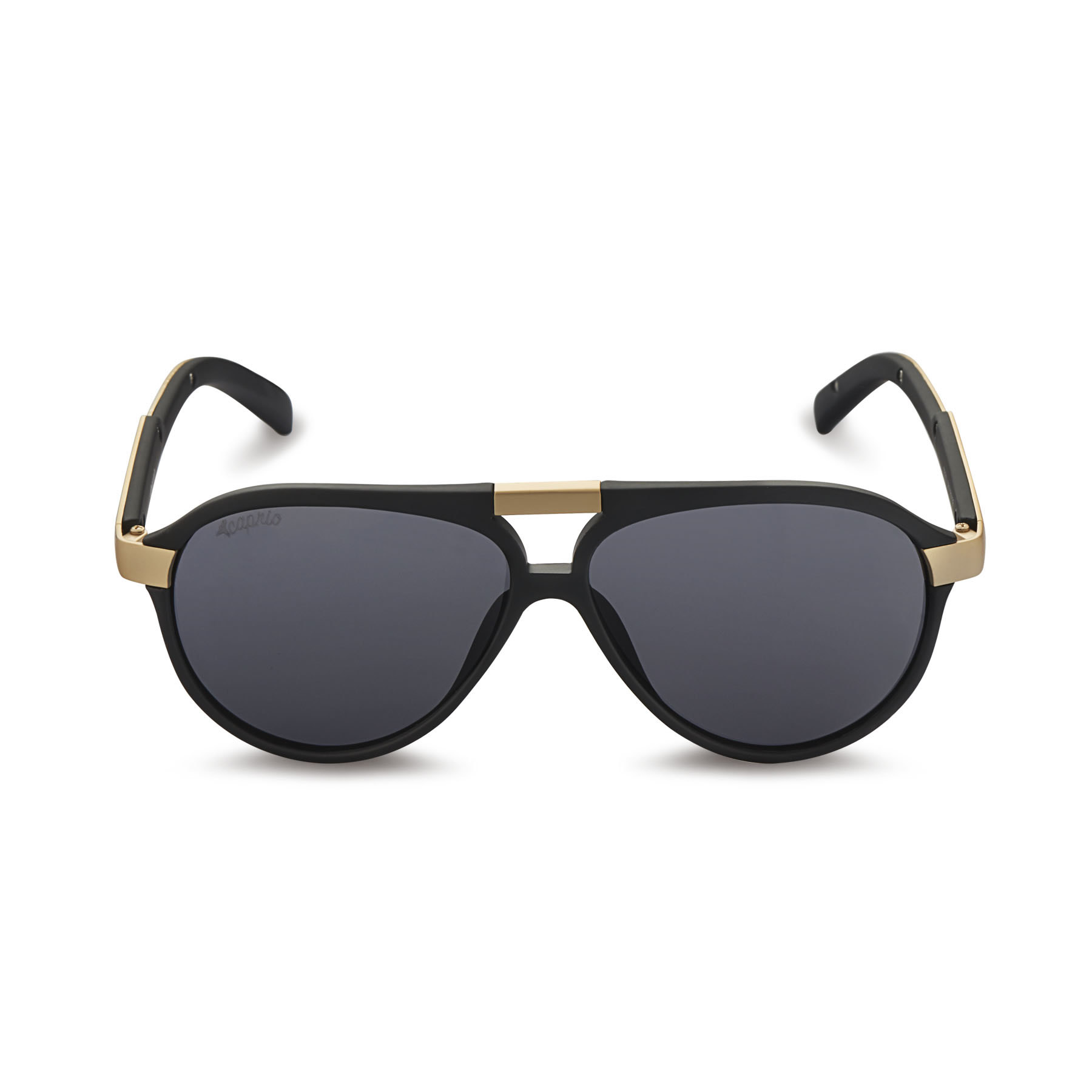 08c974e131d1e Caprio Unisex Bold Double Bridge Sunglasses