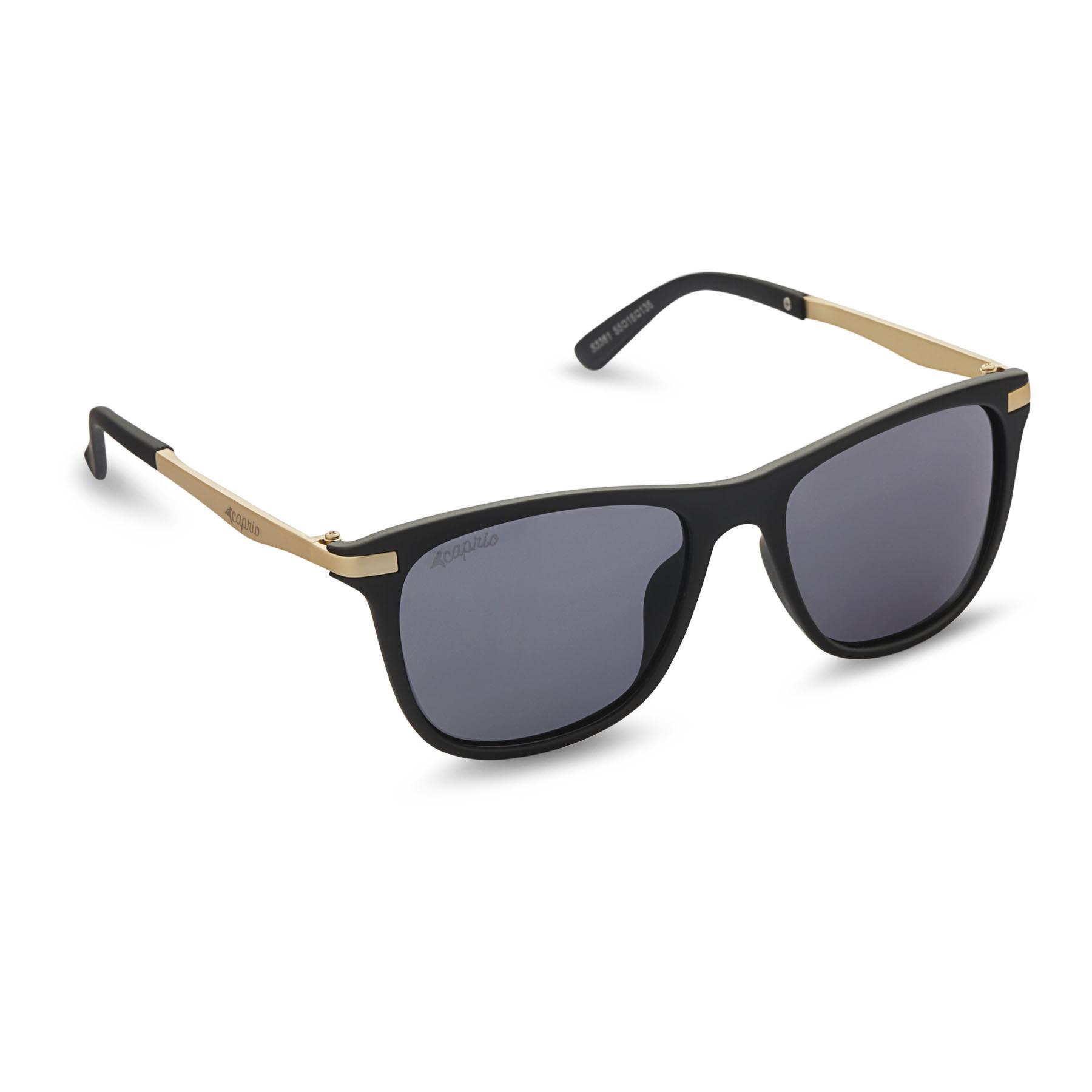 739253e303a Caprio Unisex Retro Square Sunglasses