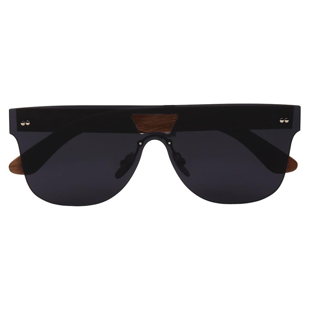 c1c072ea56 Rohit Bal Walnut Wood Double Bridged Sunglasses for Men