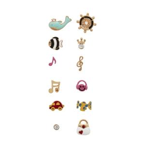 Lesk Assorted  Set of Earrings