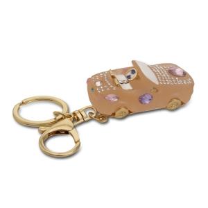 Lesk Embellished Car Keychain