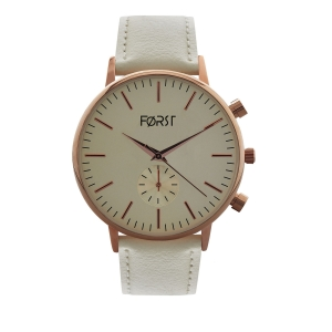 Forst Leather Strap Analogue Watch for Women