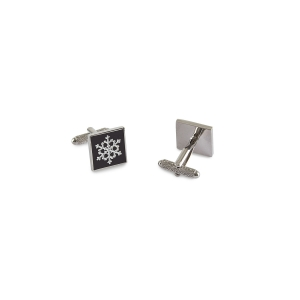 Forst  Snowflake Cufflinks For Men