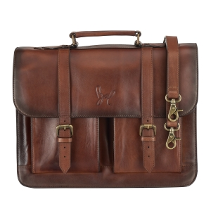 Rohit Bal Leather Satchel Bag