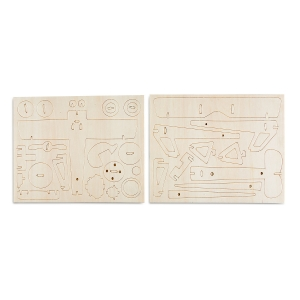 Spice Innocente Airplane Wooden Construction Kit