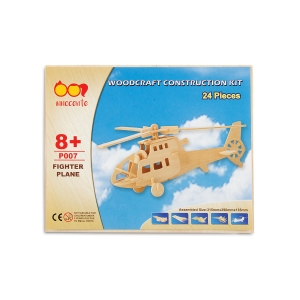 Spice Innocente Helicopter Wooden Construction Kit