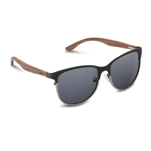 Caprio Wooden Classic Rectangular Sunglasses for Women