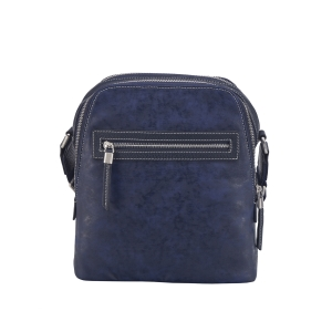 Rohit Bal Two Tone Leather Messenger Bag