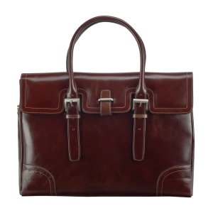 Rohit Bal Leather Office Bag for Men