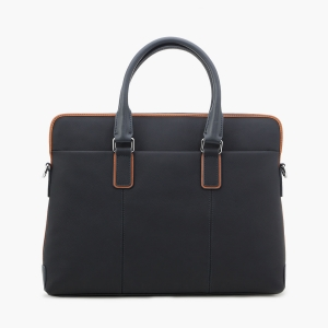 Vajero East-West Leather Bag for Men