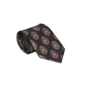 Rohit Bal Organic Print Silk Tie & Pocket Square