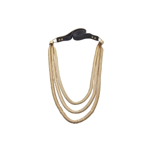 Lesk Layered Snake Chain Necklace