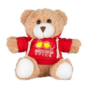 Spice Innocente Teddy Bear in Hooded Sweatshirt