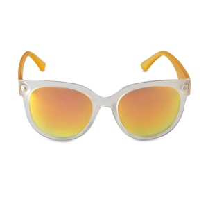 Caprio Translucent Reflector Sunglasses for Women