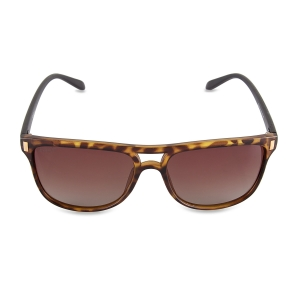 Caprio Double Bridge Rectangular Sunglasses for Women