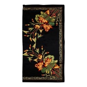 Rohit Bal Flower Print Silk Scarf