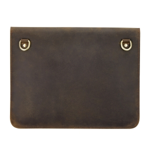 Rohit Bal Brushed Antique Leather Portfolio Bag