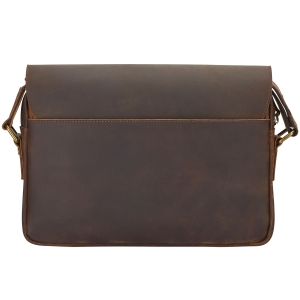 Rohit Bal Antique Leather Mini Saddle Bag