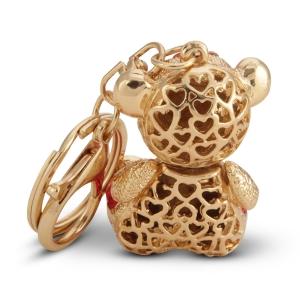 Lesk Embellished Teddy Keychain