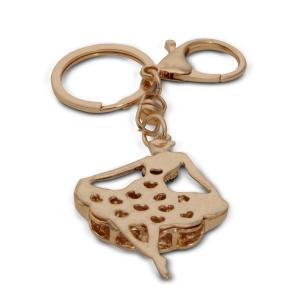 Lesk Embellished Princess Keychain