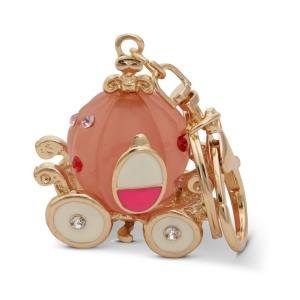 Lesk Embellished Carriage Keychain