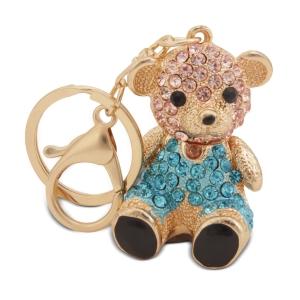 Lesk Embellished Panda Keychain