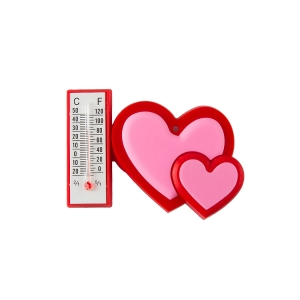 SG Hearts Temperature Meter