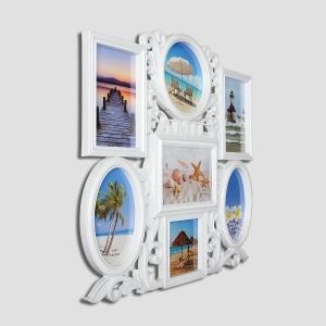 Spice Modello Antique Design Seven Picture Multi-Frame