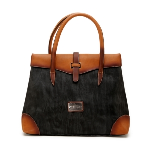 Vajero Tapered Handbag with Flap for Women