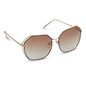 Caprio Hexagonal Sunglasses for Women
