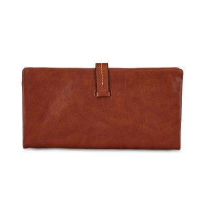 Rohit Bal Leather Stitch Clip Wallet for Women
