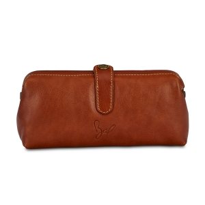 Rohit Bal Leather Mini Duffle Clutch