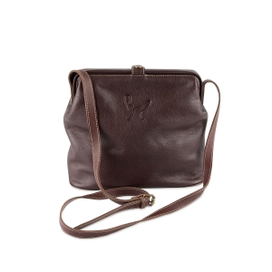 Rohit Bal Textured Leather Crossbody Bag