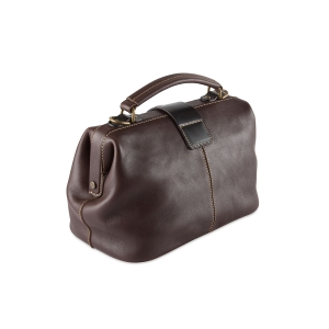 Rohit Bal Foldover Leather Handbag for Women