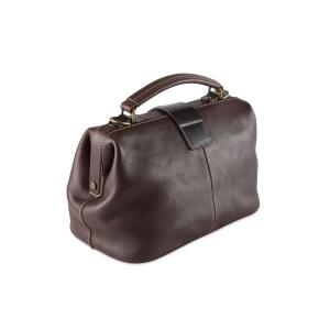 Rohit Bal Foldover Leather Handbag for Women