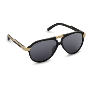 Caprio Unisex Bold Double Bridge Sunglasses