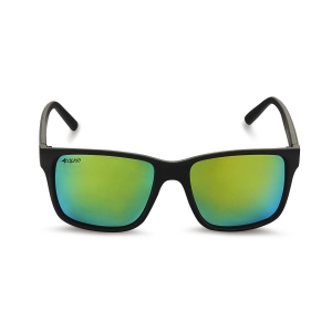 Caprio Unisex Mirrored Wayfarer Sunglasses
