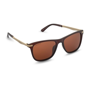 Caprio Unisex Retro Square Sunglasses