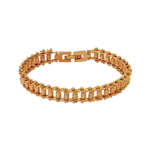 Lesk Interlocked Chain Bracelet