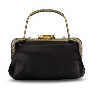 Rohit Bal Leather Framed Clutch