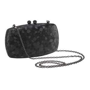 Vajero Shiny Evening Box Clutch