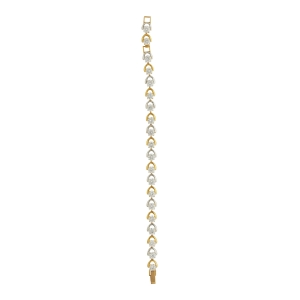 Lesk Diamanté Chain Bracelet