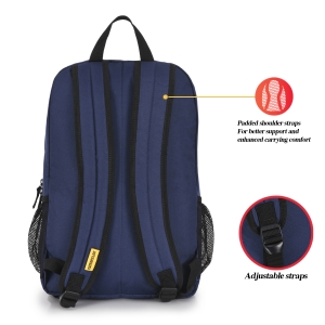 CAT Unisex Verbatim 22 Ltrs 2 Compartment Navy Blue Solid 15.6