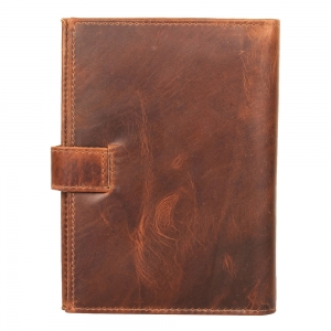 Vajero Leather RFID Shield Passport Wallet