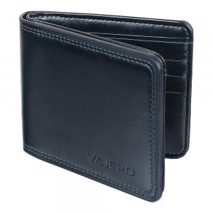 Vajero Billfold Leather Wallet for Men
