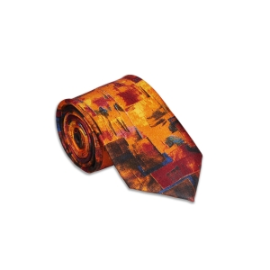 Colour Play Silk Tie