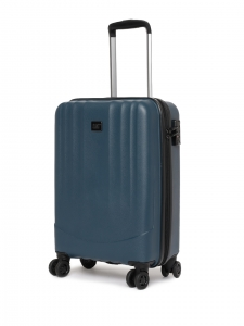 CAT Unisex Blue Turbo Spinner Extremely lightweight Cabin/Carry On Small Softside Trolley Suitcase 20 Inches 50.8 CM