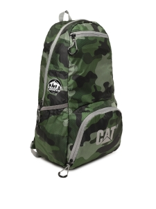 CAT Unisex Plata Urban Mountaineer 21 Ltrs Green Casual Solid Backpack