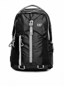 CAT Unisex Rainier 20 Ltrs 2 Compartment Black Solid Laptop Backpack (83364-01)