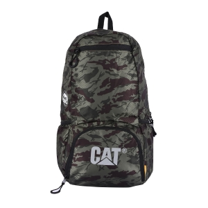 CAT Unisex Plata 21 Ltrs 3 Compartment Camo Olive/Chocolate Solid  Casual Backpack (83604-398)